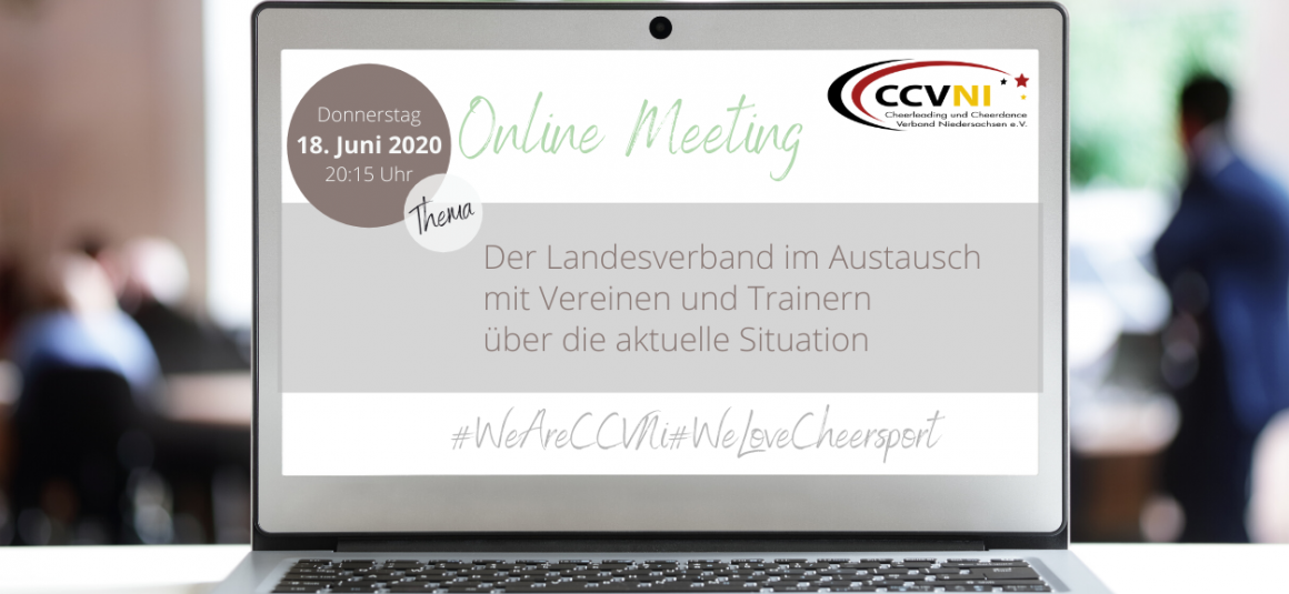 1. Landesweites Online Meeting – am 18.06.2020