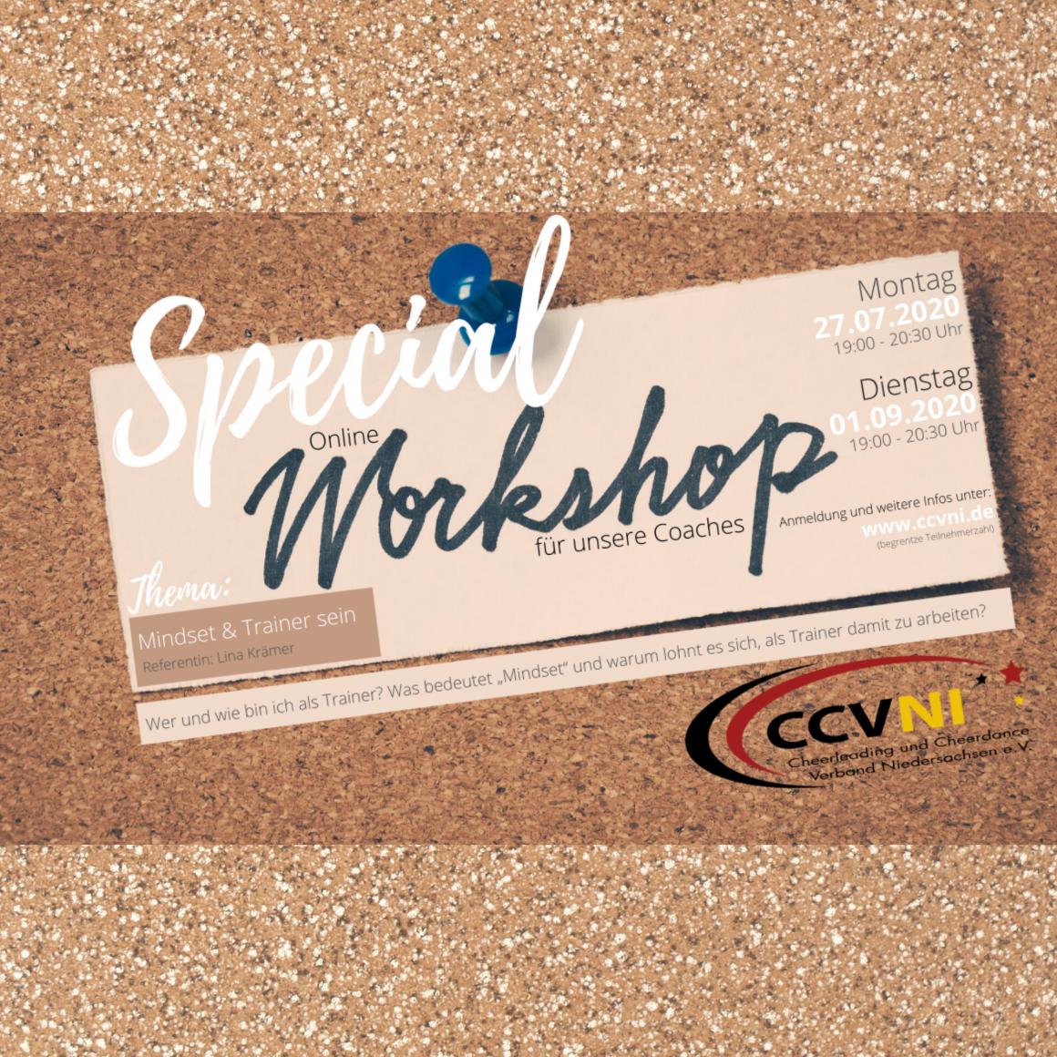 Online Workshop für unsere Coaches – Mindset & Trainer sein